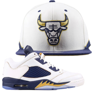 front to match Jordan 5 Dunk From Above Hat | Snapback Hook Up dunk from above  Chicago Bulls Snapback Hat