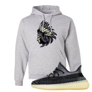 Yeezy Boost 350 V2 Asriel Carbon Pullover Hoodie | Indian Chief, Ash