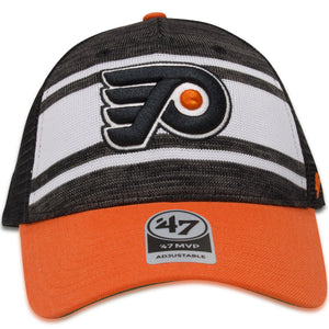 Philadelphia Flyers Tri-Colored '47 Brand MVP Power Play Trucker Hat