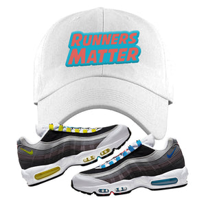 Air Max 95 QS Greedy Dad Hat | White, Runners Matter