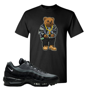 Air Max 95 Black Smoke Grey T Shirt | Sweater Bear, Black