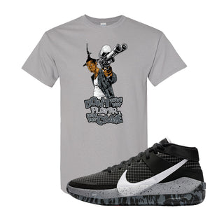KD 13 Oreo T Shirt | Don't Hate The Playa, Gravel