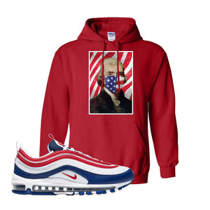 Air Max 97 USA Hoodie | Red, Thomas & Jefferson Mask
