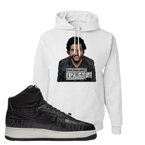 Air Force 1 High Hotline Hoodie | Escobar Illustration, White