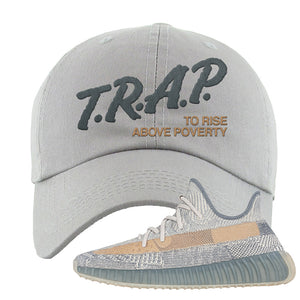 Yeezy Boost 350 V2 Israfil Dad Hat | Light Gray, Trap To Rise Above Poverty