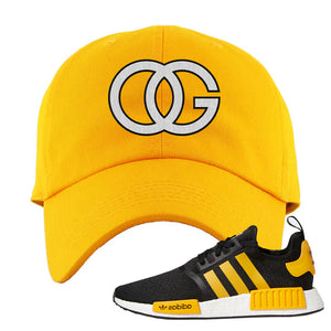 NMD R1 Active Gold Dad Hat | Gold, OG
