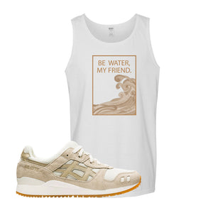 GEL-Lyte III 'Monozukuri Pack' Tank Top | White, Be Water My Friend Wave