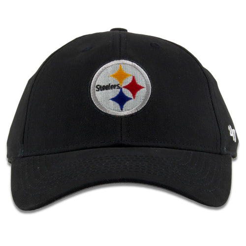 a27ec4055d11d Pittsburgh Steelers Infant Sized Black Adjustable Dad Hat