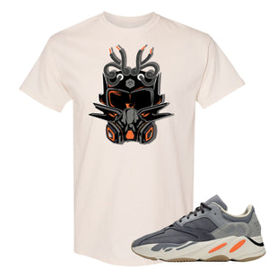 Yeezy Boost 700 Magnet Sneaker Mask Natural Sneaker Matching Pullover Tee Shirt