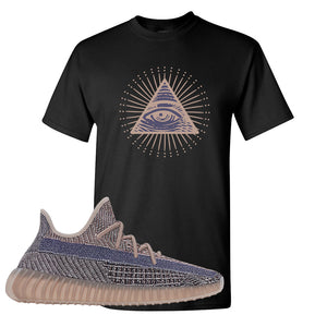 Yeezy Boost 350 V2 Fade T-Shirt | All Seeing Eye, Black