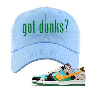 SB Dunk Low 'Chunky Dunky' Dad Hat | Sky, Got Dunks?