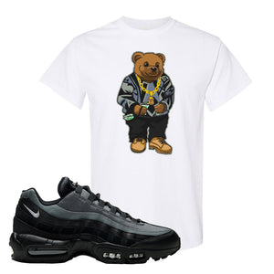 Air Max 95 Black Smoke Grey T Shirt | Sweater Bear, White