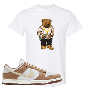 Dunk Low Medium Curry T Shirt | Sweater Bear, White