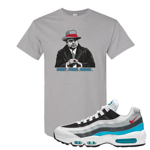 Air Max 95 Red Carpet T Shirt | Capone Illustration, Gravel