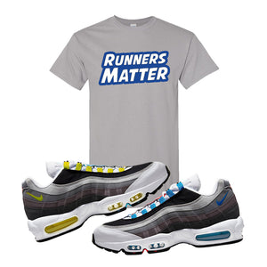 Air Max 95 QS Greedy T Shirt | Gravel, Runners Matter
