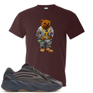 Yeezy Boost 700 Geode Sneaker Hook Up Polo Sweater Bear Russet T-Shirt