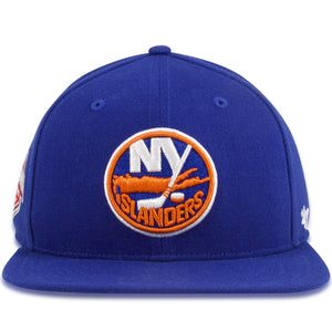 New York Islanders Royal Blue Wool '47 Brand Snapback Hat