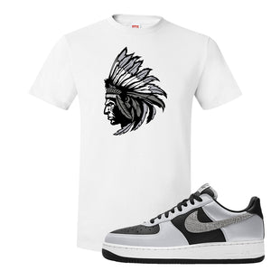 Air Force 1 3M Snake T Shirt | Indian Chief, White