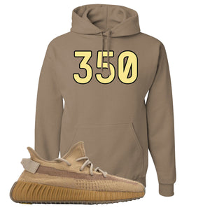 Yeezy Boost 350 V2 Earth Sneaker Hoodie To Match | 350, Safari