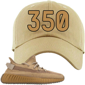 Yeezy Boost 350 V2 Earth Sneaker Dad Hat To Match | 350, Khaki