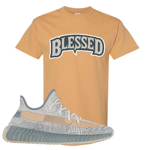 Yeezy Boost 350 V2 Israfil T Shirt | Old Gold, Blessed Arch