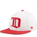Detroit Red Wings Two Tone White / Red Sure Shot '47 Brand Snapback Hat