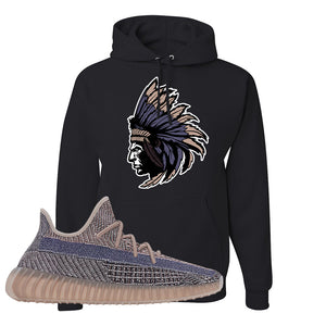 Yeezy Boost 350 V2 Fade Pullover Hoodie | Indian Chief, Black