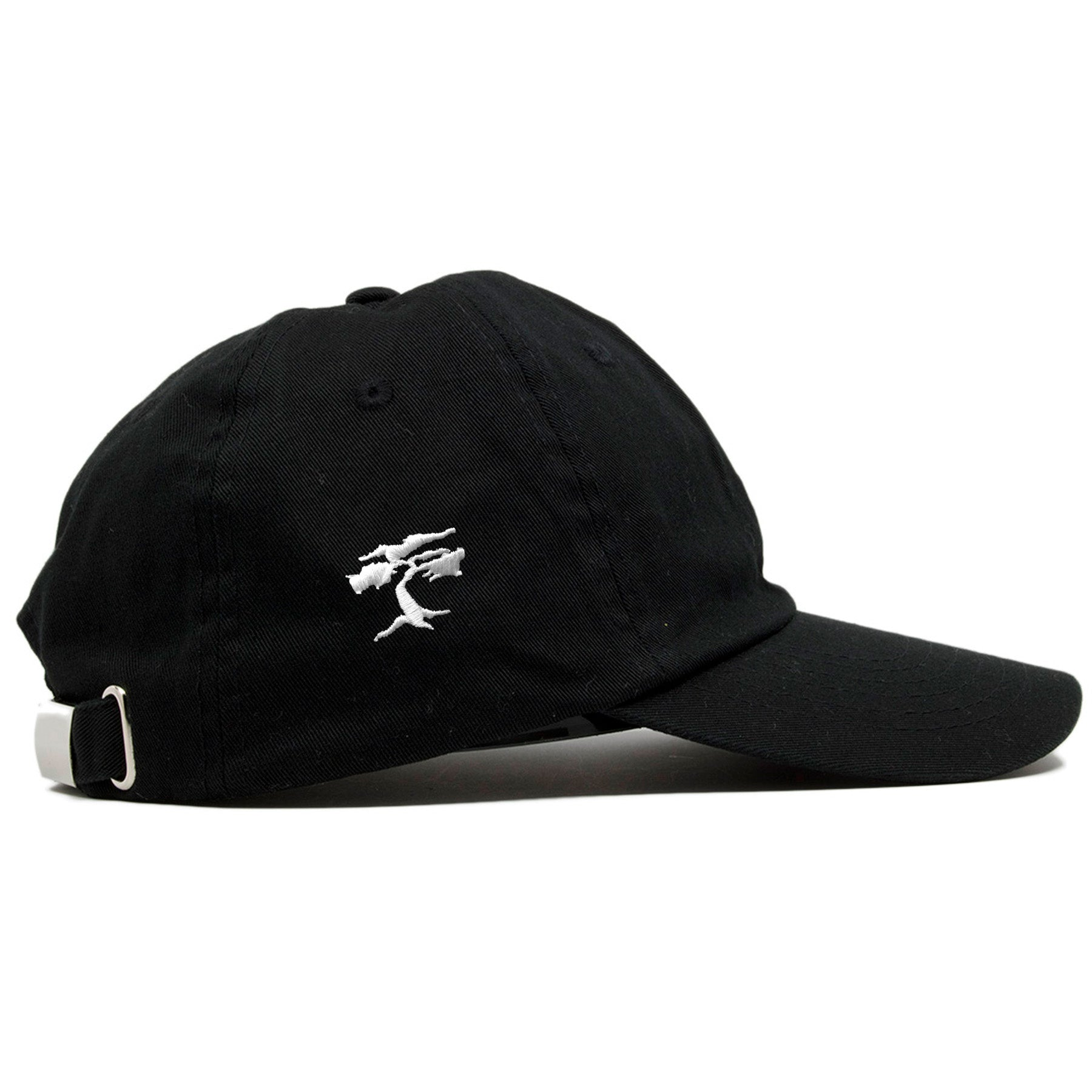 ... on the right side of the hello my name is kids sized papi black dad hat a085832cddf7