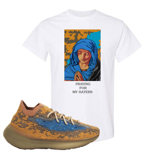 Yeezy Boost 380 'Blue Oat' T Shirt | White, God Told Me
