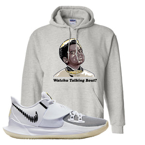 Kyrie Low 3 Hoodie | Ash, Watchu Talking Bout