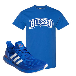 Ultra Boost 1.0 Kansas T Shirt | Blessed Arch, Royal Blue