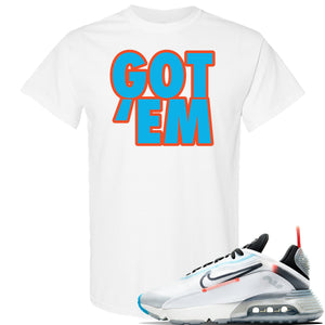 Air Max 2090 Pure Platinum T Shirt | Got Em, White