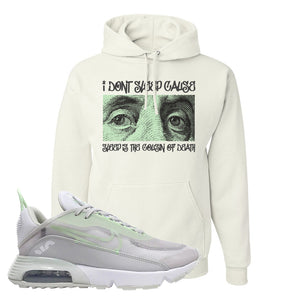 Air Max 2090 Vast Gray Hoodie | Franklin Eyes, White