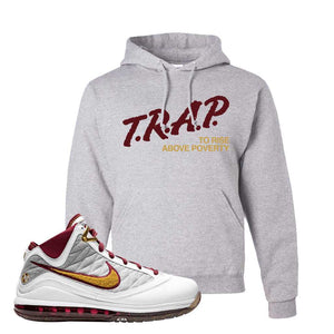 LeBron 7 MVP Hoodie | Ash, Trap To Rise Above Poverty