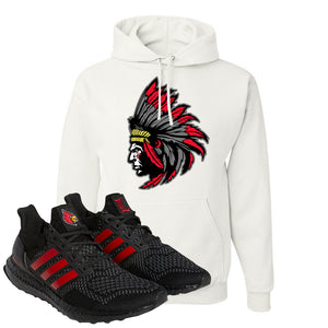 Ultra Boost 1.0 Louisville Hoodie | Indian Chief, White