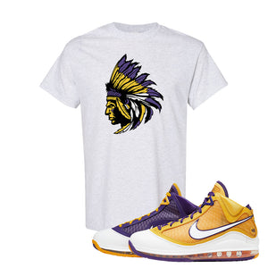 Lebron 7 'Media Day' T Shirt | Ash, Indian Chief