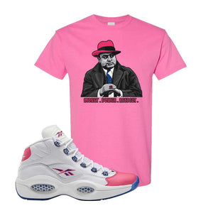 Question Mid Pink Toe T-Shirt | Capone Illustration, Azalea