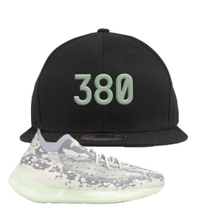 Yeezy 380 Alien Snapback Hat | Black, 380