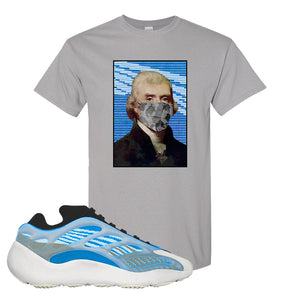 Yeezy 700 v3 Azareth T Shirt | Gravel, Jefferson Mask