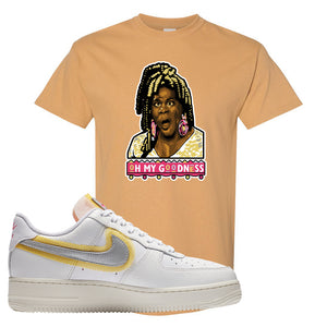 Air Force 1 Low 07 LX White Gold T Shirt | Oh My Goodness, Old Gold