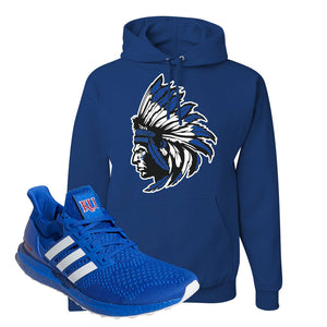 Ultra Boost 1.0 Kansas Hoodie | Indian Chief, Royal Blue