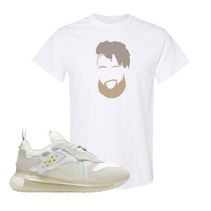 Air Max 720 OBJ Slip White T Shirt | White, OBJ Head