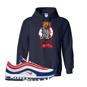 Air Max 97 USA Hoodie | Navy Blue, Sweater Bear