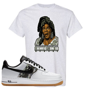 Air Force 1 Low Camo T Shirt | Oh My Goodness, Ash