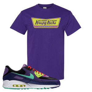 Air Max 90 Cheetah T Shirt | Krispy Kicks, Purple