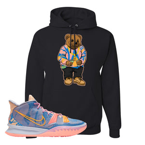 Kyrie 7 Expressions Hoodie | Sweater Bear, Black