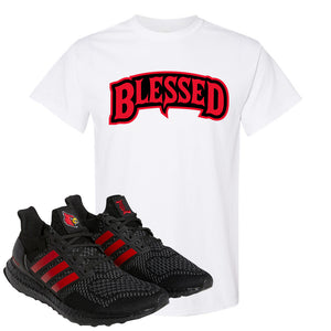 Ultra Boost 1.0 Louisville T Shirt | Blessed Arch, White