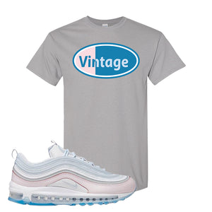 Air Max 97 DIY Flare T Shirt | Gravel, Vintage Oval