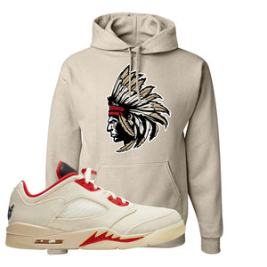 Air Jordan 5 Low Chinese New Year 2021 Hoodie | Indian Chief, Sand
