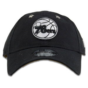 Philadelphia 76ers 2018 All-StarWeekend Flawless Black 9Twenty Dad Hat